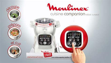 Le Robot Cuiseur Moulinex Companion