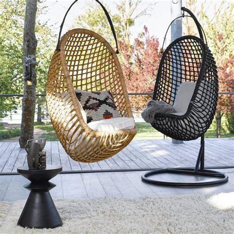 chaise suspendue interieur 25 best ideas about fauteuil suspendu on