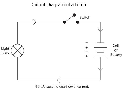 Circuit Diagram Torch Electrical Electronics