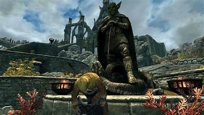 Rpg Skyrim Games Scrolls Elder Pc Wallpapers