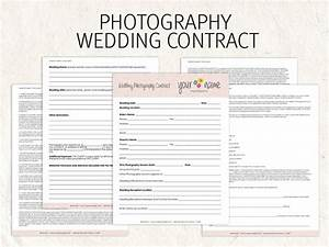 wedding photography contract business forms flowers editable With how to make a wedding photography contract