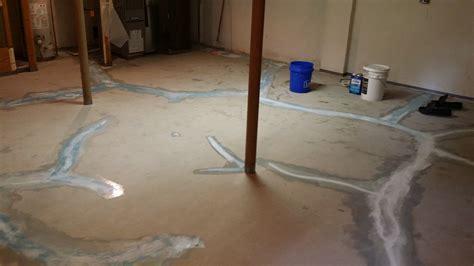 waterproof cement floor basement waterproofing flooring solution columbus ohio concrete