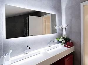 ou trouver le meilleur miroir de salle de bain avec eclairage With porte de douche coulissante avec lampe led miroir salle de bain