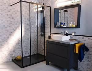 Panneau étanche Salle De Bain : douche salle de bain castorama ~ Premium-room.com Idées de Décoration