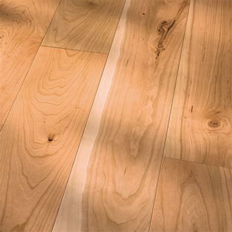 HomerWood Unfinished Traditional Character Cherry Natural 7