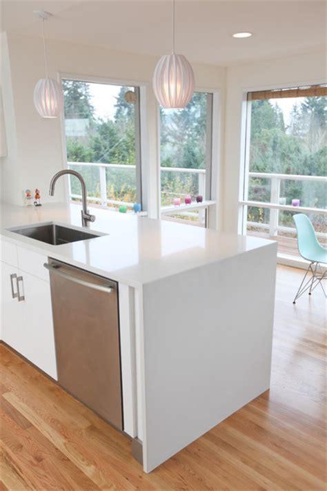 Mid Century Modern Kitchen countertop   Midcentury
