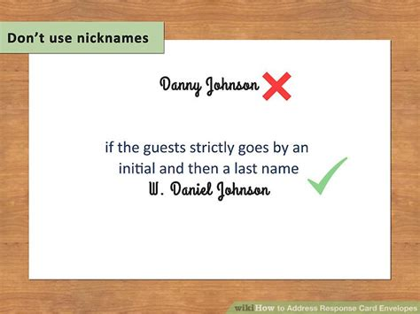 how to address an envelope to a family how to address response card envelopes with pictures