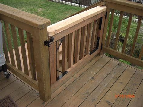 outdoor gate for deck stairs the 25 best deck gate ideas on kid friendly 7227