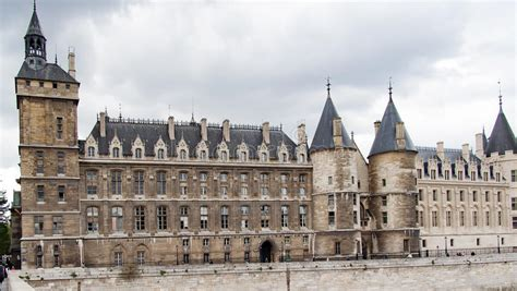 Conciergerie Palace Of Justice In Paris France Stock