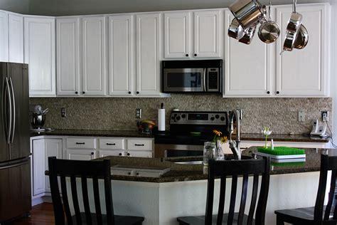 Painting Oak Kitchen Cabinets Gray Painting Oak Kitchen