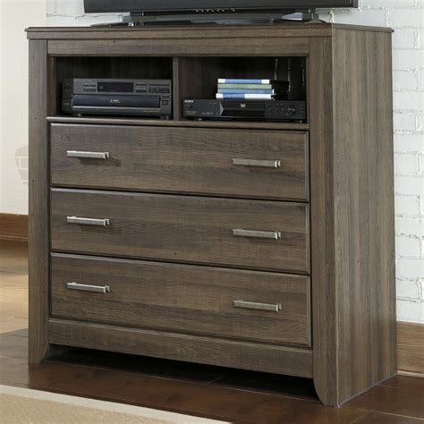 Media Chest For Bedroom by Signature Design By Juararo 3 Drawer Media Chest