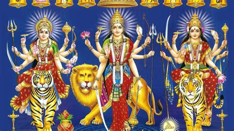 1920x1080 Happy Navratri  Maa Durga Wallpaper 1080p