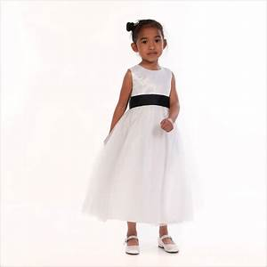 Black And White Childrens Bridesmaid Dresses Gallery ...
