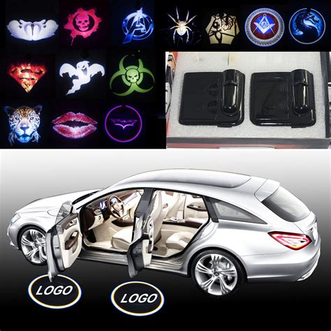 Door Projector Lights by 2x Magnetic Car Door Curtesy Led Projector Welcome Logo