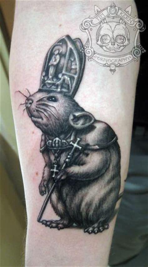 arm fantasy mouse tattoo  tim kerr