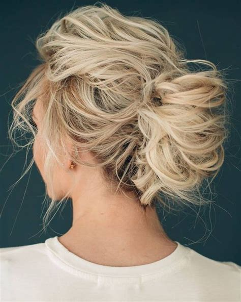 easy messy hairstyles 10 pretty messy updos for long hair updo hairstyles 2019