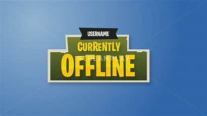 Fortnite Offline Banner Overlay Twitch Stream Channel