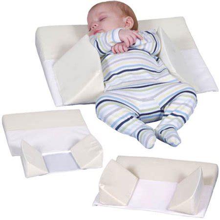 baby wedge pillow leachco sleep n secure 3 in 1 infant sleep positioner