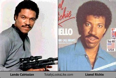 Lando Calrissian Meme - lando calrissian totally looks like lionel richie cheezburger funny memes funny pictures