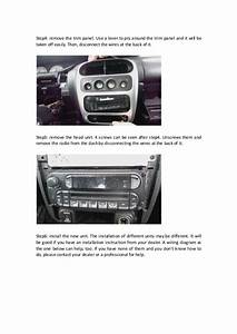 Dodge Neon Radio Wiring Diagram