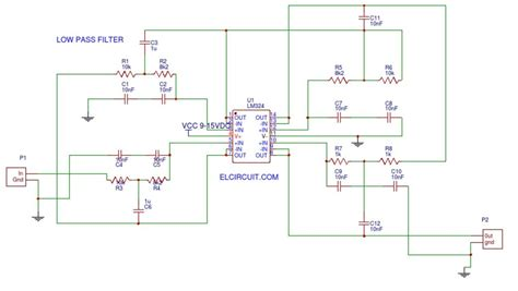 Audio Low Pass Filter Electronik Electronics