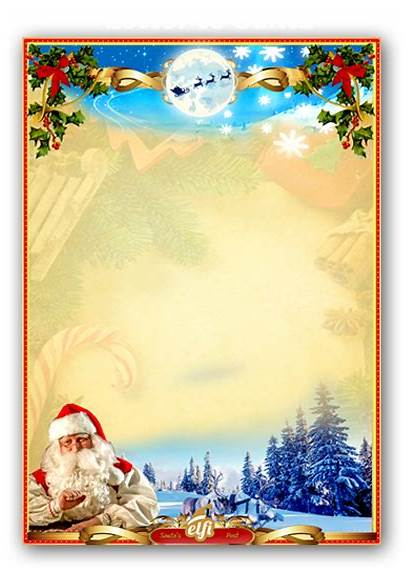 Santa Letters Printable Personalized Letter Christmas Template