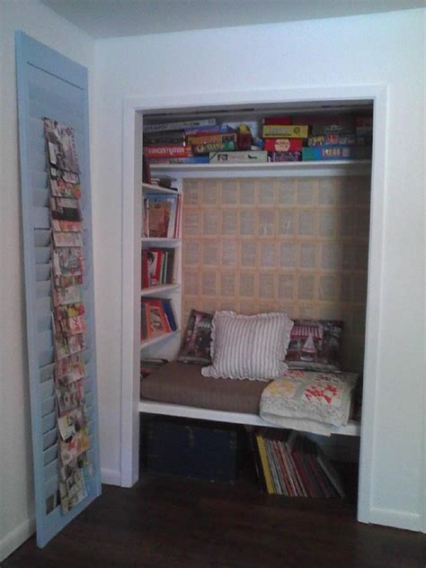 closet book nook    toddlers