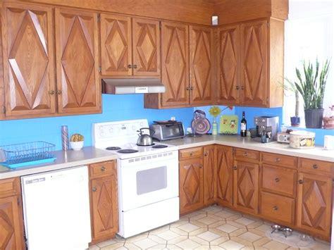 restauration armoires de cuisine en bois avant après la cuisine d 39 amélie la cuisine