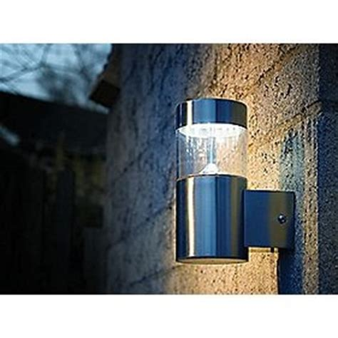 screwfix led steel outdoor wall light home
