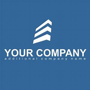 Vector for free use: Building logo