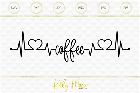 Pngtree offers coffee heartbeat png and vector images, as well as transparant background coffee heartbeat clipart images and psd files. Coffee Heartbeat SVG File | Cut File | Silhouette Cameo | Cricut By Kelly Maree Design ...