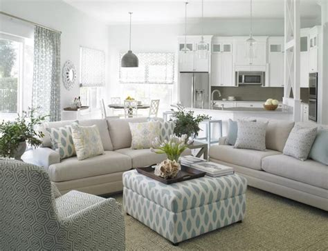 The Gray Carpet Round Glass Coffee Table Open Concept