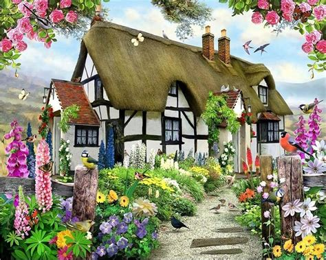 country cottage wallpaper beibehang custom wallpapers gorgeous pastoral