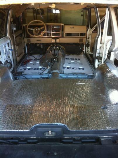 interior floor insulation jeep cherokee forum