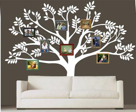 sticker arbre chambre b custom family tree decal vinyl wall decal photo white tree