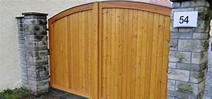 Gartentore Aus Holz Bilder : gartentore hoftore allemann gmbh holz u metallprodukte ~ Michelbontemps.com Haus und Dekorationen