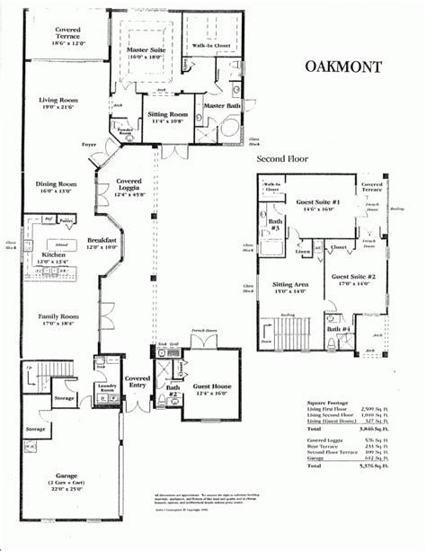 guest house plans new home floor plans with guest house new home plans design
