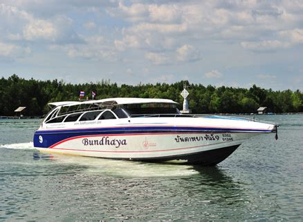 Speed Boat Book by Book A Speedboat Transfer In Southern Thailand Here