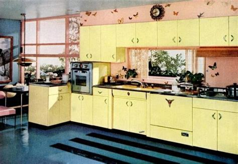 50 s kitchen design kitchen trends introduced in the 1950s 1107