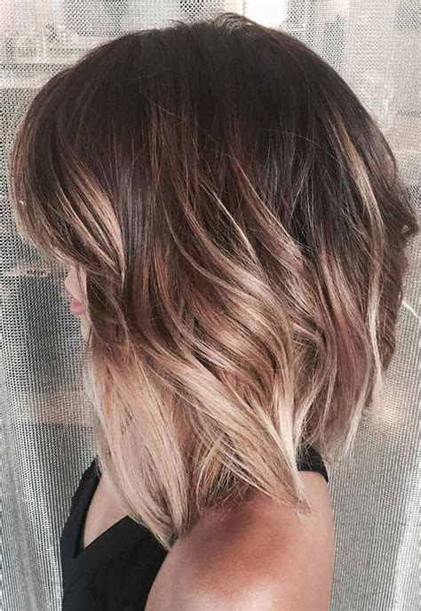 Highlights Hairstyles by Asymmetrical Haircuts With Balayage Highlights 2018