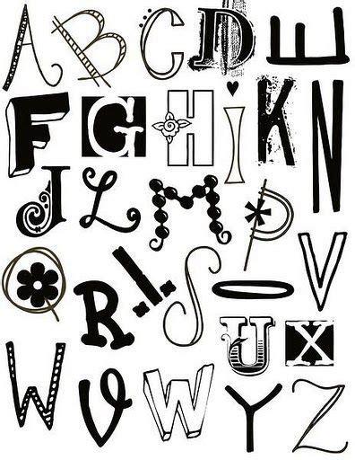 abecedarios en blanco y negro para imprimir diferentes abecedarios con diferentes tipos de