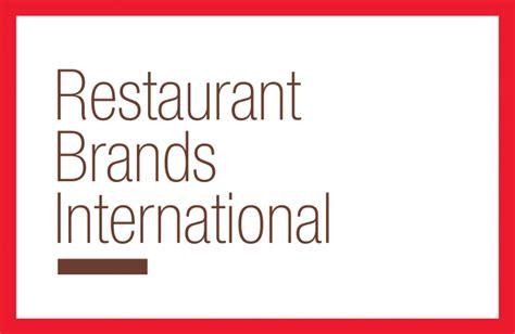 restaurant brands international logos