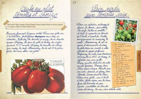 carnet de cuisine carnet de cuisine pour l été ezgulian