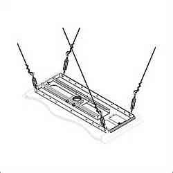 peerless mounts peerless lightweight adjustable suspended