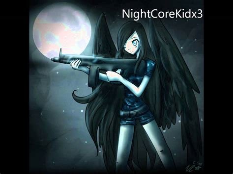 Nightcore  Angel With A Shotgun Youtube