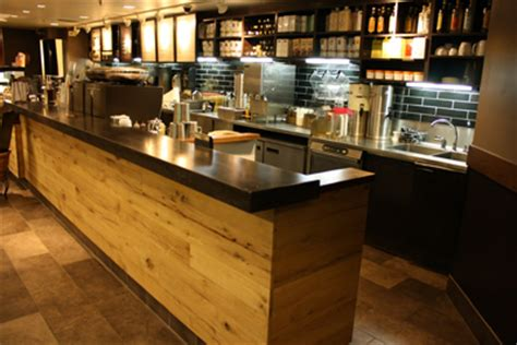 kitchen bar counter starbucks willful blue a customer trikeenan