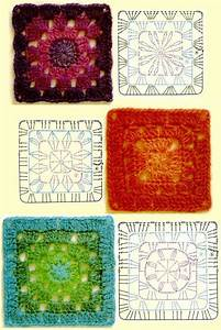 1000  Images About Crochet Squares Love  On Pinterest