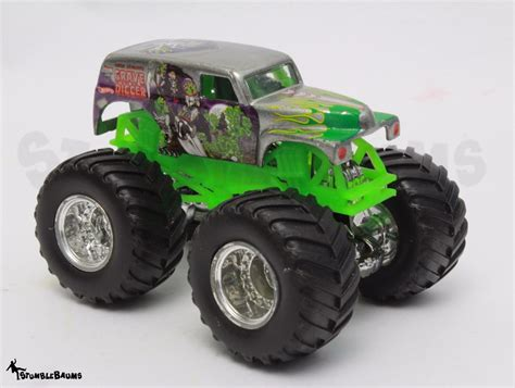 wheels grave digger monster truck wheels monster jam silver grim vum grave digger die