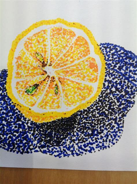 images  pointillism  pinterest dot