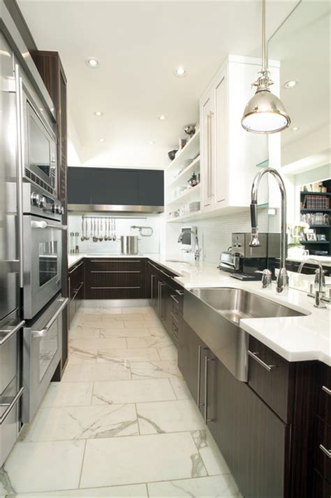 marble flooring for kitchen galley kitchen contemporary kitchen toronto by 7367